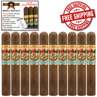 San Cristobal Quintessence Epicure (6x52 / 10 PACK SPECIAL) + FREE 3-PACK SAN CRISTOBAL QUINTESSENCE + JETLINE TORCH LIGHTER + FREE SHIPPING ON YOUR ENTIRE ORDER!