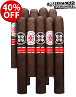 AJ Fernandez Hoyo La Amistad Black vs Silver Blue Moon Deal (10 PACK SPECIAL) + 40% OFF!