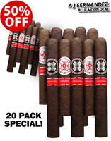 AJ Fernandez Hoyo La Amistad Black vs Silver Blue Moon Deal (20 PACK SPECIAL) + 50% OFF!
