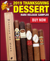 2019 Thanksgiving Desert Sampler (6 CIGAR SPECIAL) + FREE HOLIDAY GIFT + FREE SHIPPING ON YOUR ENTIRE ORDER!