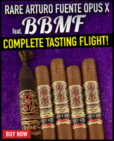 Rare Arturo Fuente Opus X BBMF Complete Tasting Flight (5 PACK SPECIAL) + FREE SHIPPING ON YOUR ENTIRE ORDER!