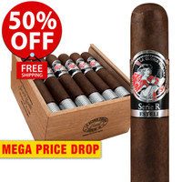 La Gloria Cubana Esteli Maduro No. Sixty-Four (6.25x64 / Box 18) + 50% OFF RETAIL! + FREE SHIPPING ON YOUR ENTIRE ORDER!