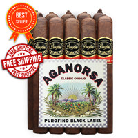 Purofino Black Label Aganorsa Classic Corojo Toro Box Press (6x54 / Bundle 10) + FREE SHIPPING ON YOUR ENTIRE ORDER!