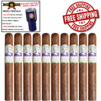 Diamond Crown Julius Caeser Churchill (7.25x52 / 10 PACK SPECIAL) + 10% OFF + DIAMOND CROWN TUMBLER ($35 VALUE) + FREE SHIPPING ON YOUR ENTIRE ORDER!