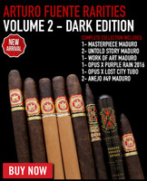 Arturo Fuente Dark Holiday Rarities #2 (8 CIGAR SPECIAL) + FREE SHIPPING ON YOUR ENTIRE ORDER!