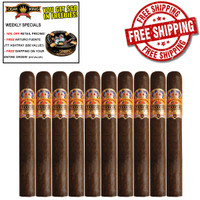 Diamond Crown Maximus No. 10 Double Belicoso (6.75x54 / 10 PACK SPECIAL) + 10% OFF RETAIL PRICING + FREE FUENTE ASHTRAY ($50 VALUE!) + FREE SHIPPING ON YOUR ENTIRE ORDER!