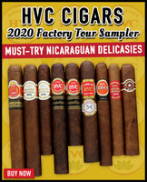 HVC 2020 Factory Tour Sampler (9 CIGAR SPECIAL) + FREE SHIPPING ON YOUR ENTIRE ORDER!