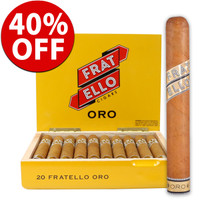 Fratello Oro Robusto (5x50 / Box 20) + 40% OFF!