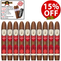 *SOLD OUT* Balmoral Serie Signaturas Dueto Gran Toro By Ernesto Perez-Carillo (6x52 / 10 PACK SPECIAL) + 15% OFF RETAIL PRICING! + FREE 2-PACK OF DOMISA DOMINICA CIGARS ($20 VALUE!) + FREE JET BUTANE LIGHTER) + FREE SHIPPING ON YOUR ENTIRE ORDER!