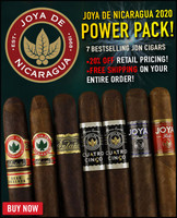 Joya De Nicaragua Power Pack (7 CIGAR SAMPLER) + 20% OFF RETAIL! + FREE SHIPPING ON YOUR ENTIRE ORDER!