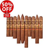 Oliva Serie V Melanio Greatest Of All Time Flight (6.5x52 / 10 PACK SPECIAL) + 50% OFF RETAIL! + FREE SHIPPING ON YOUR ENTIRE ORDER!