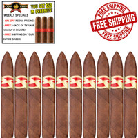 Tatuaje Avion 13 Double Perfecto (6.75x52 / 10 PACK SPECIAL) + FREE TATUAJE HAVANA VI 3-PACK + FREE SHIPPING ON YOUR ENTIRE ORDER!