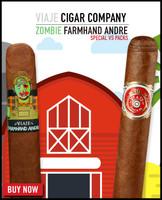 *SOLD OUT* Rare Viaje Zombie Farmhand Andre vs Circa '45 (7x52 / Sampler 10) *Ships Tuesday 5/26*