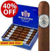 Macanudo Cru Royale Poco Gordo Robusto (4x60 / 10 PACK SPECIAL) + 40% OFF RETAIL!