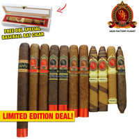 DBL Cigars 2020 Baseball Factory Flight Taster (11 PACK SPECIAL) + FREE SHIPPING ON YOUR ENTIRE ORDER!