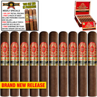 Perdomo Reserve 10th Anniversary BP Sun Grown Robusto (5x54 / 10 PACK SPECIAL) + 10% OFF RETAIL! + FREE 3-PACK OF BESTSELLING PERDOMO CIGARS ($30 VALUE!) + FREE REFILLABLE TORCH LIGHTER ($10 VALUE!) + FREE SHIPPING ON YOUR ENTIRE ORDER!
