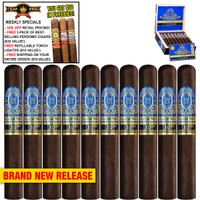 Perdomo Reserve 10th Anniversary BP Maduro Epicure (6x54 / 10 PACK SPECIAL) + 10% OFF RETAIL! + FREE 3-PACK OF BESTSELLING PERDOMO CIGARS ($30 VALUE!) + FREE REFILLABLE TORCH LIGHTER ($10 VALUE!) + FREE SHIPPING ON YOUR ENTIRE ORDER!