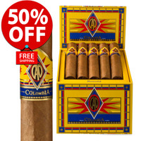 CAO Colombia Bogata (6x60 / Box 20) + 50% OFF + FREE SHIPPING ON YOUR ENTIRE ORDER!