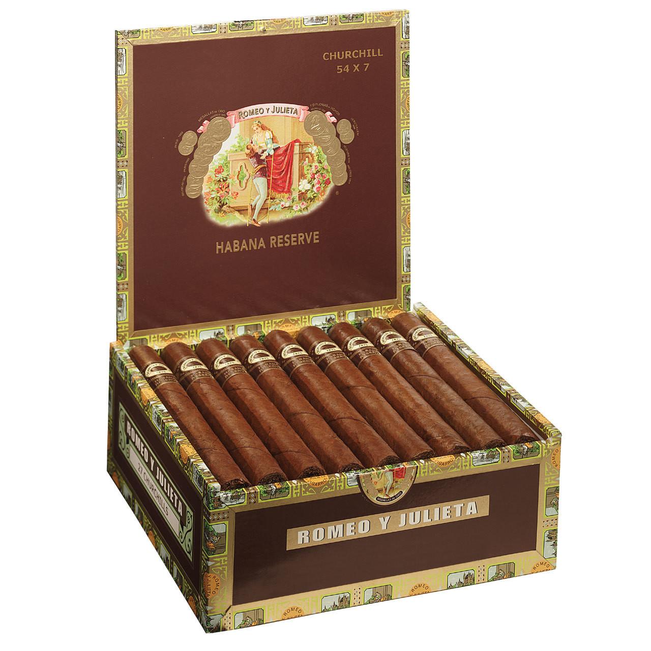 Romeo y Julieta Habana Reserve Robusto (5x54 / Box 27)
