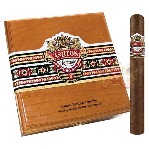 Ashton Heritage Puro Sol Corona Gorda (5.75x46 / Box 25)