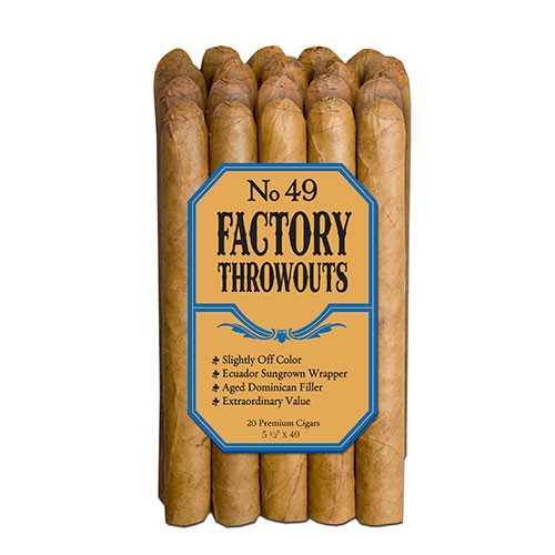 Factory Throw Outs #49 Bundle (5.5x49 / Bundle 20)