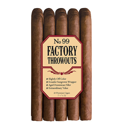 Factory Throw Outs #99 Bundle (7.25x52 / Bundle 20)