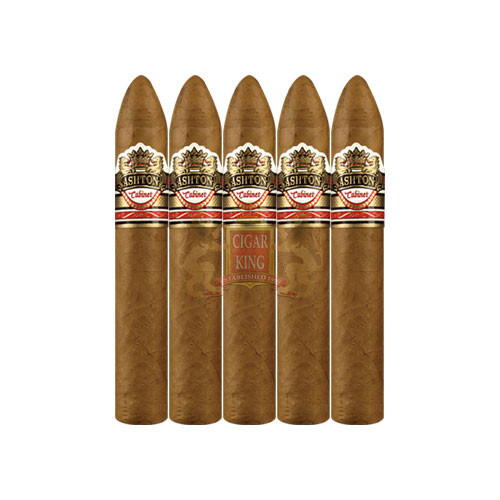 Ashton Cabinet Belicoso (5.25x52 / 5 Pack)