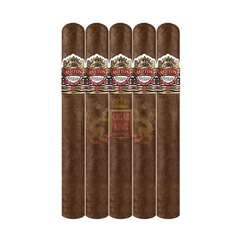 Ashton Heritage Puro Sol Corona Gorda (5.75x46 / 5 Pack)