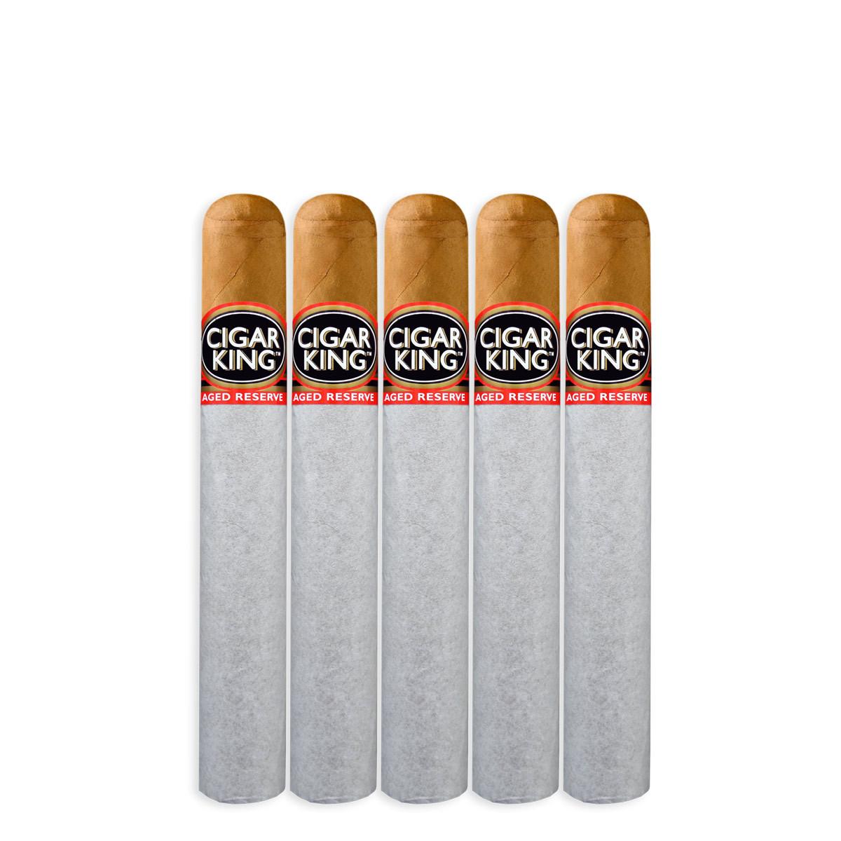 Cigar King Aged Reserve Natural Robusto (5x50 / 5 Pack)