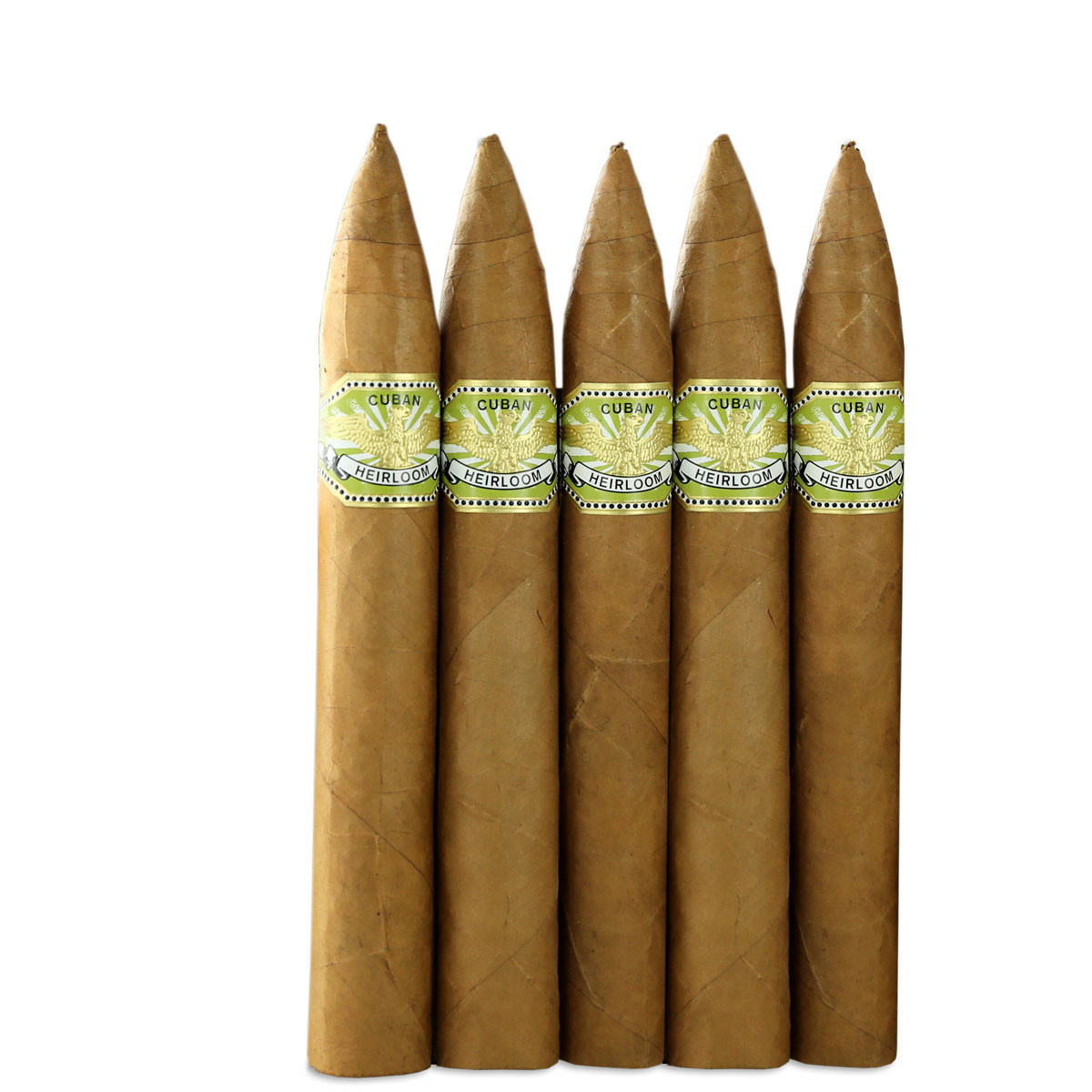 Cuban Heirloom Connecticut Torpedo (6x54 / 5 Pack)