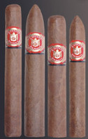 Arturo Fuente Don Carlos Belicoso (5.38x52 / 5 Pack)