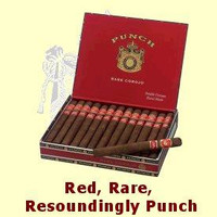 Punch Rare Corojo Rothschild (4.5x50 / 5 Pack)