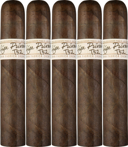 Liga Privada T52 Robusto (5x52 / 5 Pack)