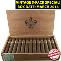 *SOLD OUT*Tatuaje Cojonu 2006 * MAR 2014 Vintage*  (5.5x52 / 5 Pack) + FREE SHIPPING ON YOUR ENTIRE ORDER!