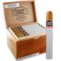 Cigar King Aged Reserve Natural Corona (5.5x46 / Box 25) + FREE SHIPPING ON YOUR ENTIRE ORDER!