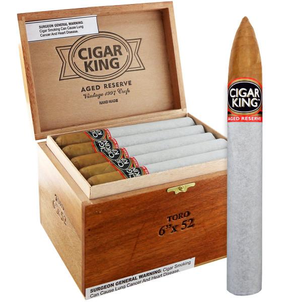 Cigar King Aged Reserve Natural Pyramide (6x52 / Box 25)