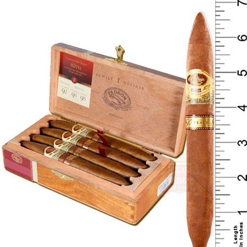 Padron Serie 1926 80 Years Natural (6.75x54 / Box 8)