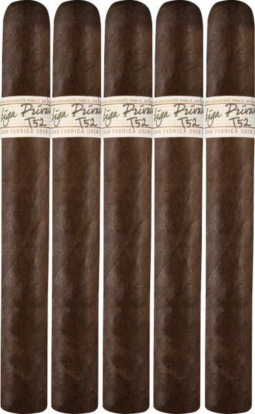 Liga Privada T52 Corona Doble (7x54 / 5 Pack)