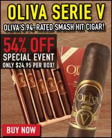 Oliva Serie V Special Edition Variety Sampler (5 Cigars) + 54% OFF RETAIL!