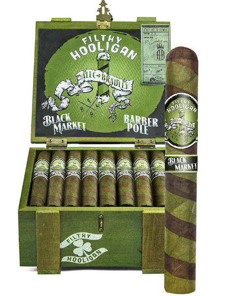 Alec Bradley Black Market Filthy Hooligan 2018 Edition Toro (6x50 / Box 22)
