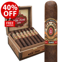 Alec Bradley Nica Puro Churchill (7x50 / Box 20) + 40% OFF! + FREE SHIPPING ON YOUR ENTIRE ORDER!