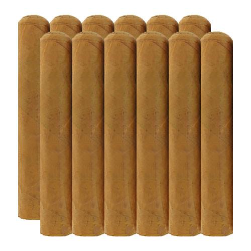 Cigar King Nude Phatties Connecticut Super Gordo (7x72 / Bundle 12)