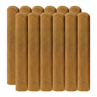 Cigar King Nude Phatties Connecticut Super Gordo (7x72 / Bundle 12)