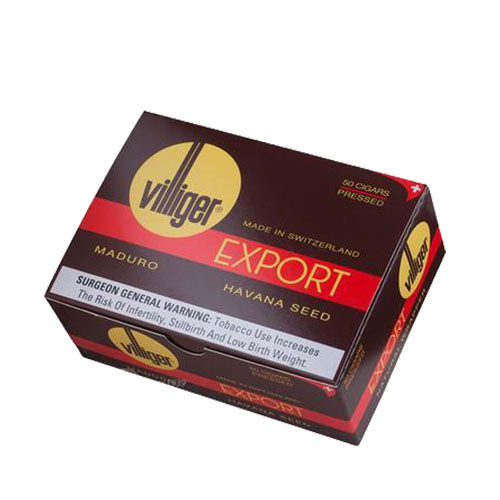 Export Maduro by Villager (4x37 / Box of 50)