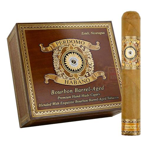 Perdomo Habano Bourbon Barrel Aged Connecticut Gordo (6x60 / Box 24)