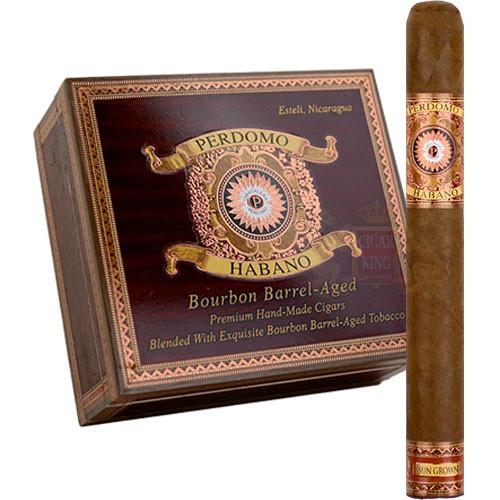 Perdomo Habano Bourbon Barrel Aged Sun Grown Churchill (7x54 / Box 24)