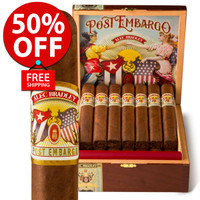 Alec Bradley Post Embargo Robusto (5x52 / Box 20) + 50% OFF RETAIL! + FREE SHIPPING ON YOUR ENTIRE ORDER!