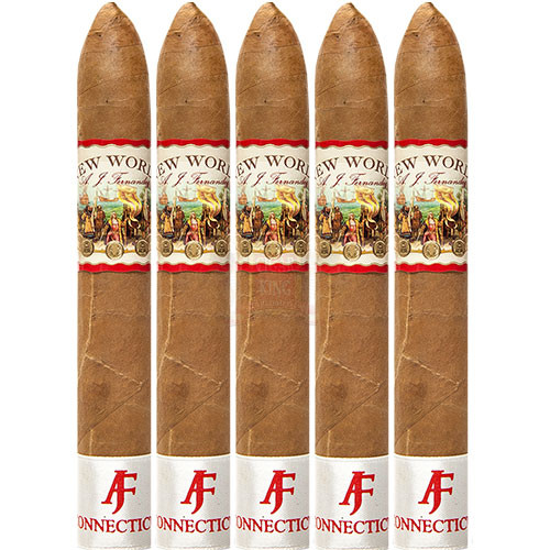AJ Fernandez New World Connecticut Belicoso (6x54 / 5 Pack)