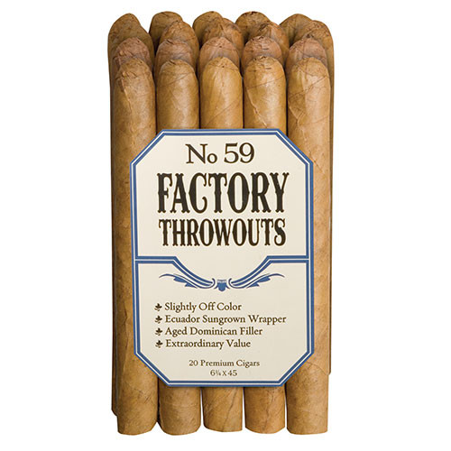 Factory Throwouts No. 59 (6.25x45 / Bundle 20)