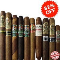 Gurkha Beauty Sampler (10 Cigar Flight) + FREE SHIPPING ON YOUR ENTIRE ORDER!